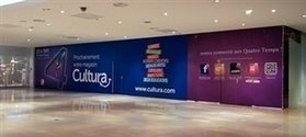 Cultura remplace Virgin à La Défense : actualités - Livres Hebdo | Edition | Scoop.it