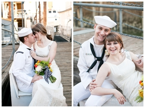 Vintage Nautical Wedding Photography Style Shoot | All About Beach Weddings | Scoop.it