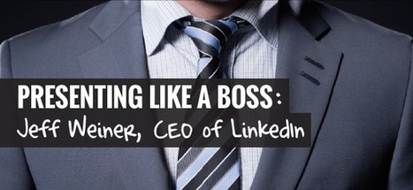 How to Present Like A Boss: Jeff Weiner, CEO of LinkedIn | Sponsorship, CSR & Events | Scoop.it