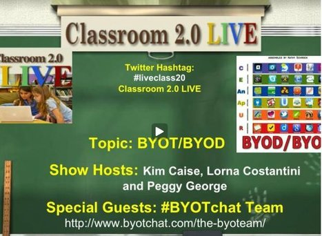 BYOT BYOD webinar | Mobile Learning k-12 | Scoop.it