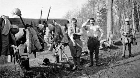 Cadavres, poux et rugby : la Grande Guerre vue par un médecin français | Sciences et Guerre | Scoop.it