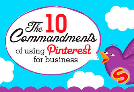 10 *Useful* Rules for Using Pinterest for Business [Infographic] | Unbounce | Pinterest | Scoop.it