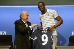 Usain Bolt backs Brazil to win 2014 football World Cup   Fifa World Cup 2014 Brazil   Scoop.it