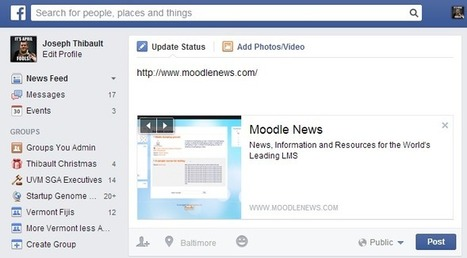 More info on the Facebook/Social Course Format | Moodle News | elearning stuff | Scoop.it