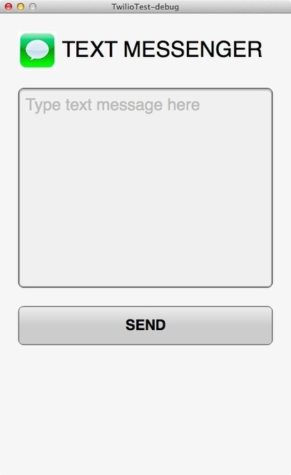 Sending an SMS message with the Twilio API | Crazy world | Scoop.it