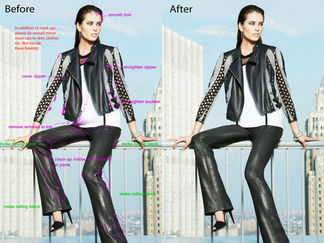 Free Fashion Retouching Services by professional graphic | Clipping Path | Scoop.it