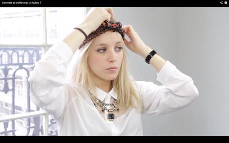Comment se coiffer avec un foulard - Mademoiselle P. | Presse et Blog | Scoop.it