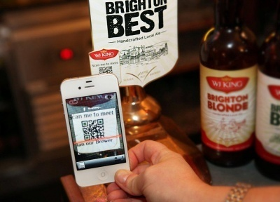 UK microbrewery WJ King launches QR Code ... - FoodBev.com | INOVATEC | Scoop.it