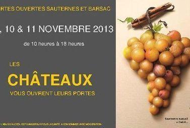 Les vignobles de Sauternes-Barsac vous ouvrent leurs portes ! - Magazine du vin - Mon Vigneron | Tourisme viticole en France | Scoop.it