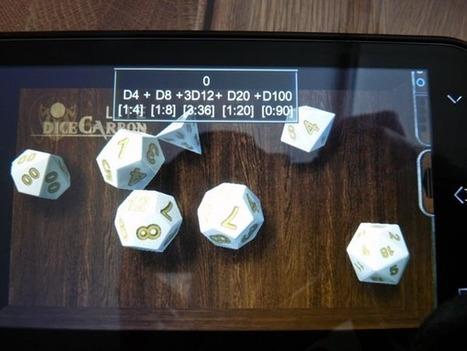 DiceCarbon, une application mobile pour lancer les dés | L'univers des jeux | Scoop.it