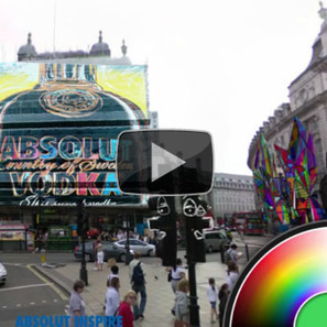 Absolut Inspire: Augmented Reality Street Art | Visual Culture and Communication | Scoop.it