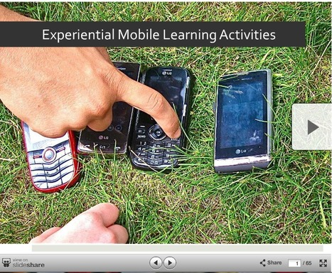 Experiential Mobile Learning Activities Presentation | Into the Driver's Seat | Scoop.it