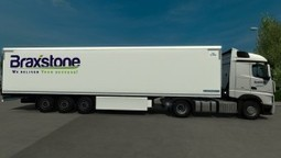 Braxstone Skin Pack for Mercedes-Benz Actros MPIV | ETS2 | Scoop.it