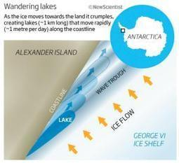 Mystery of the moving Antarctic lakes   No Such Thing As The News   Scoop.it
