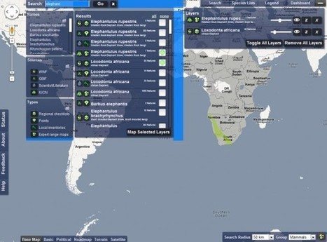 Map Of Life – Un mapa para localizar especies de animales en el mundo | Educación 2.0 | Scoop.it