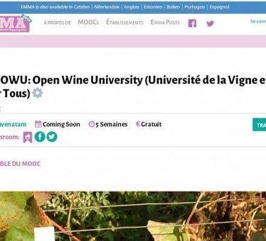 L'Université de Bourgogne crée la première formation en ligne viti-vinicole | Autour du vin | Scoop.it