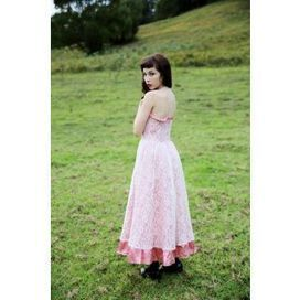 Formal Wear :: Baby Pink Princess Gown | Baby Doll Vintage | Scoop.it