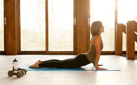 5 Easy Yoga Poses for Weekend Workout Warriors - Parade | Health & Fitness | Scoop.it