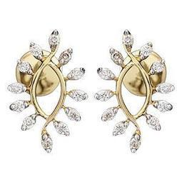 Ag Real Diamond Sparkling Fashion Earring # AGSE0156 | Jewellery | Scoop.it