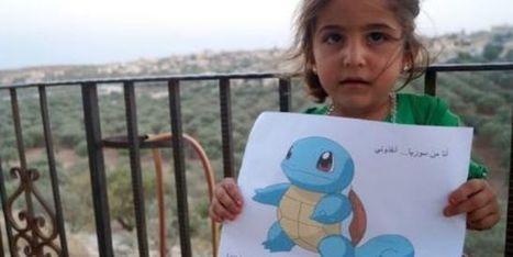 Des petits Syriens qui aimeraient bien être des Pokémons | Educommunication | Scoop.it
