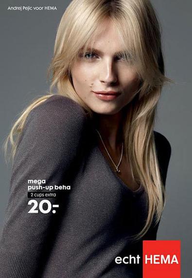 ¿Locura o genialidad? Un modelo masculino anuncia sujetadores de una marca holandesa | Publicidad y mujer | Scoop.it