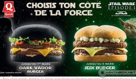 Devour The Dark Side: Enjoy The Darth Vader Burger | Strange days indeed... | Scoop.it