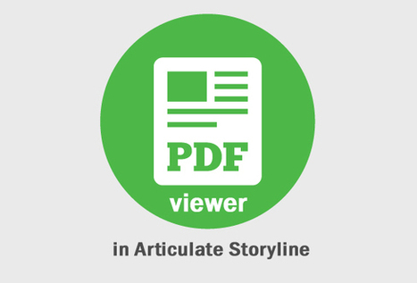 How to Embed a PDF Viewer in Articluate Storyline - eLearning Brothers | ID Tech | Scoop.it