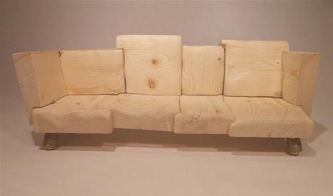 Un designer turc fabrique des meubles en bois et en laine | Blog écologique et durable | L'Etablisienne, un atelier pour créer, fabriquer, rénover, personnaliser... | Scoop.it