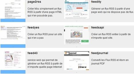 Un répertoire d'outils RSS | social learning | Scoop.it