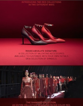 Valentino blends past with present through customizable collection | MINDS OF LUXURY | Scoop.it
