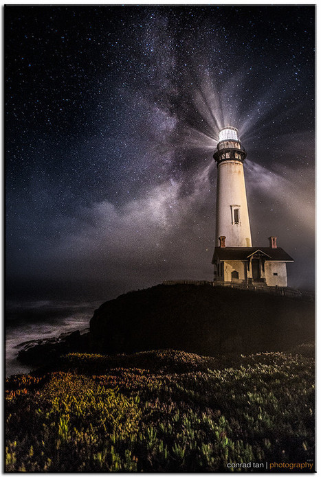 Pigeon Point Lighthouse by Conrad Tan | Music, Videos, Colours, Natural Health | Scoop.it