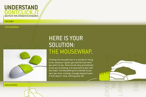 Don't click : un site web expérimental où le clic de souris est interdit ! | Evénementiel & digital | Scoop.it