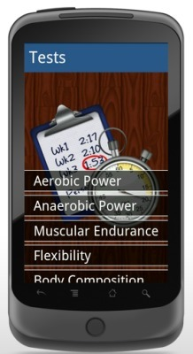 Fitness Tests App for Android | Digitized Health | Scoop.it