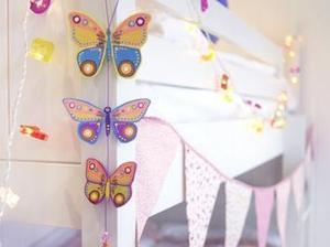 Réaliser des suspensions en bois en forme de papillons pour vos enfants #idées #conseils #DIY | Best of coin des bricoleurs | Scoop.it