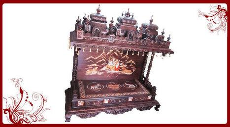 Mandir Temple Sale UK|Pooja Mandir|Wooden Temple | Puja Mandir, Wood Temple, Home Temple-Poojamandir.com | Scoop.it