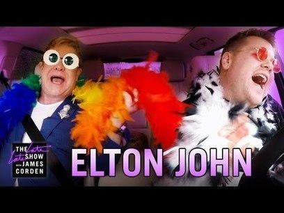 Elton John: Carpool Karaoke | Total Knowledge | Scoop.it