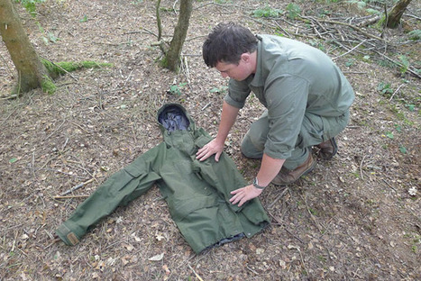 How to Fold Your Outdoor Jacket: A Neat Trick | Bushcraft | Scoop.it