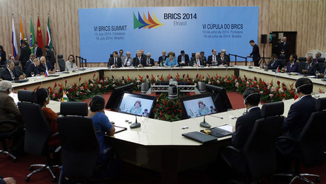 BRICS Development Bank won't rival China-led AIIB, but complement – CBR head | Gold and What Moves it. | Scoop.it