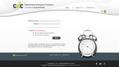 Custom RDWeb 2012, Remote Desktop Web Access 2012 | Interface Customization Services | Scoop.it