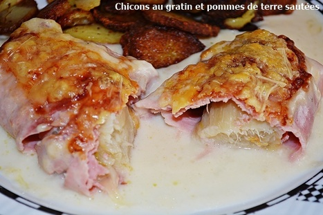Endive Gratin with Ham and Gruyere Cheese : Food Network   Hobby, LifeStyle and much more... (multilingual: EN, FR, DE)   Scoop.it