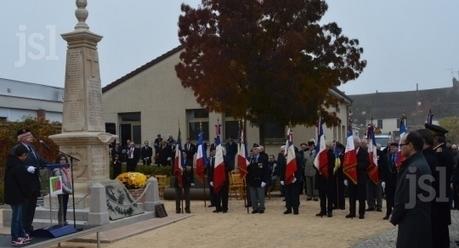 Le monument aux morts a trouvé sa nouvelle place - Le JSL | monument aux morts 14-18 | Scoop.it