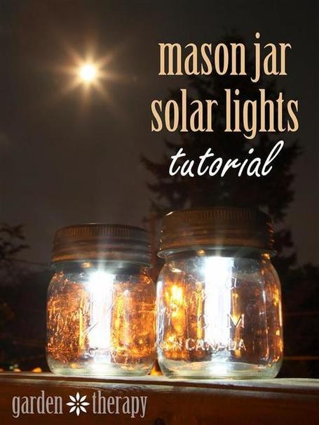 Mason Jar Solar Lights | Natural Soil Nutrients | Scoop.it