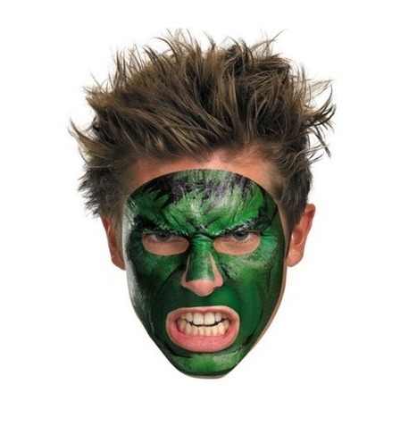 Forget Paper Masks, Cover Your Face With a Marvel Temporary Tattoo Mask | Geek On | Scoop.it