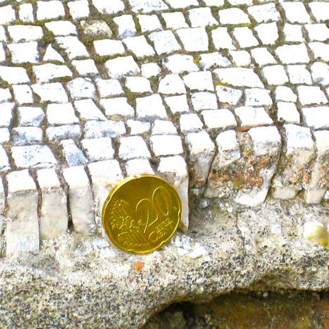 Tesserae thickness at Ostia Antica | Romanmosaicist's Blog | Smash!Mosaics | Scoop.it