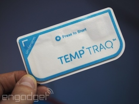 This Bluetooth thermometer patch could bring an end to infant ear violations | 2014 | Scoop.it