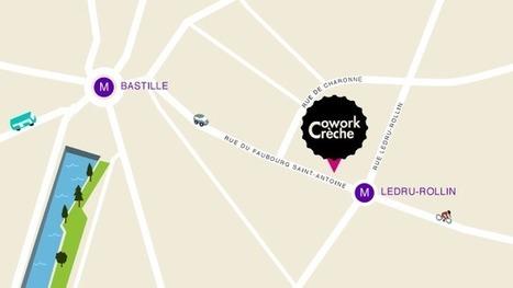 CoworkCrèche, le 1er espace de travail partagé parents bébés friendly - Paris 11 | Nouveaux lieux, nouveaux apprentissages | Scoop.it