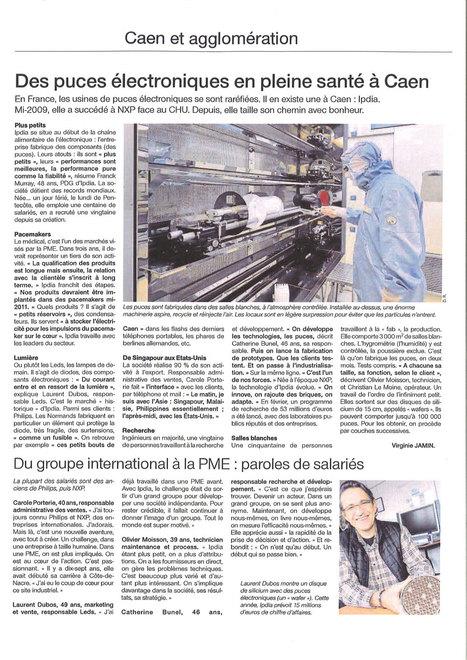 Des puces électroniques en pleine santé à Caen | revues de presse | Scoop.it