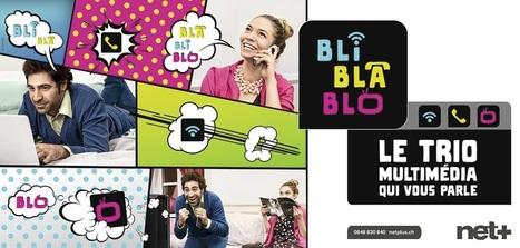 Avec BLI BLA BLO net+ dynamise et uniformise sa gamme de produits | Telecom en Suisse | Scoop.it