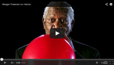 Watch How Morgan Freeman Sounds After Inhaling A Bit Of Helium | Viral Scoops | Scoop.it