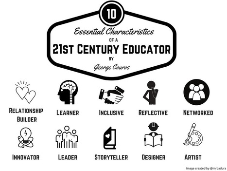 10 Essential Characteristics of a 21st Century Educator | Technology in Education | Scoop.it